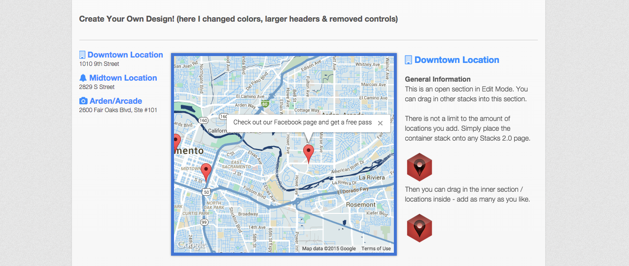 Awesome Maps - Google Maps RapidWeaver Stack by1LD