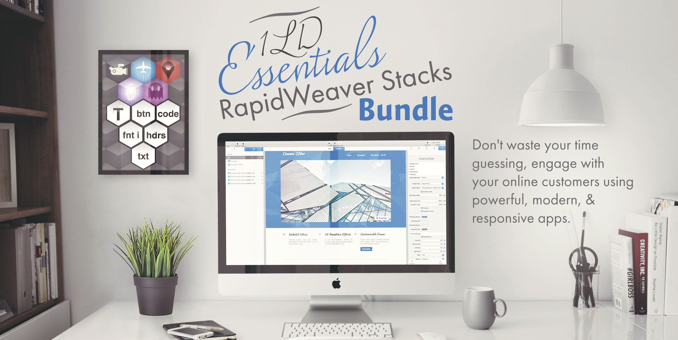 Essential RapidWeaver Stack Bundle by 1LD
