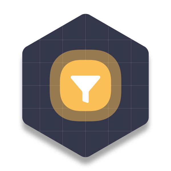Filter Grid Icon