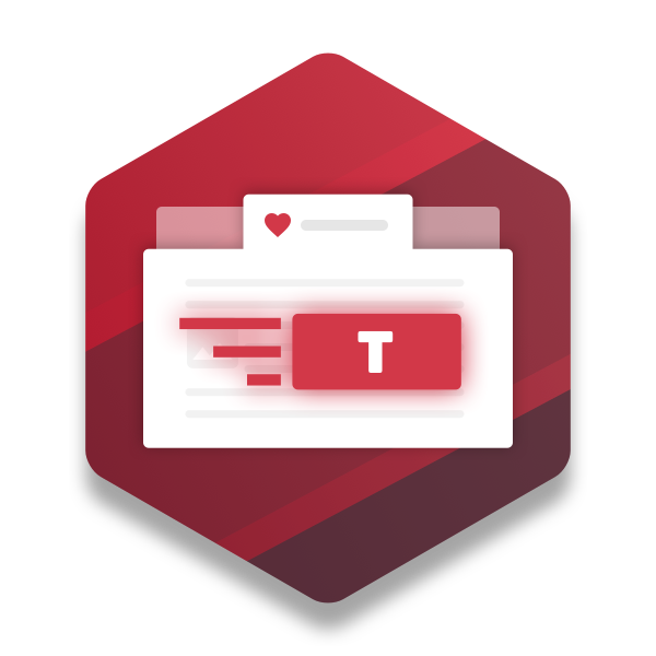 Simple tabs Icon