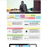 California RapidWeaver Theme Screenshot