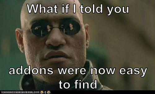 Comical Morpheus Meme about RapidWeaver Advanced Search