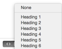 RapidWeaver 6 Styled Text Page