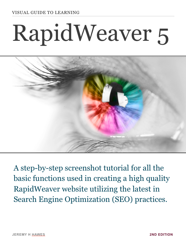 RapidWeaver Manual eBook