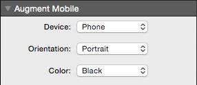 Augment Mobile Options