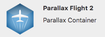 Parallax Flight Container