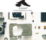 Canari 2.0 RapidWeaver Theme