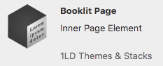 booklit page stack