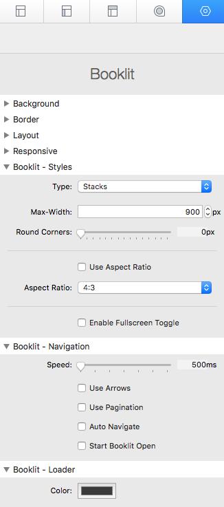 booklit settings