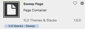 sweep page