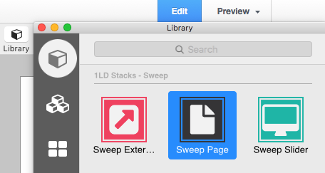 sweep in the library