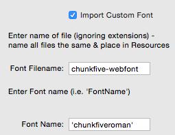 Custom Font Final