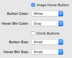 Image Hover Buttons