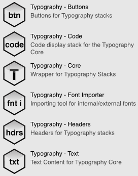 Typography Stack Suite