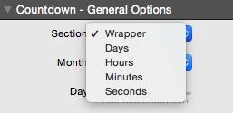 Countdown Clock Elements