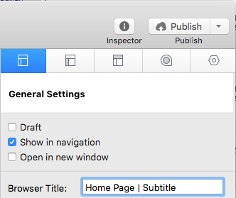 change your browser title