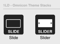 slider stacks