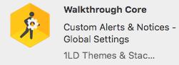 walkthrough core image