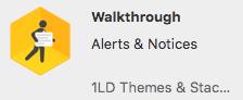 walkthrough stack