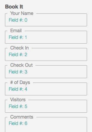 field numbers
