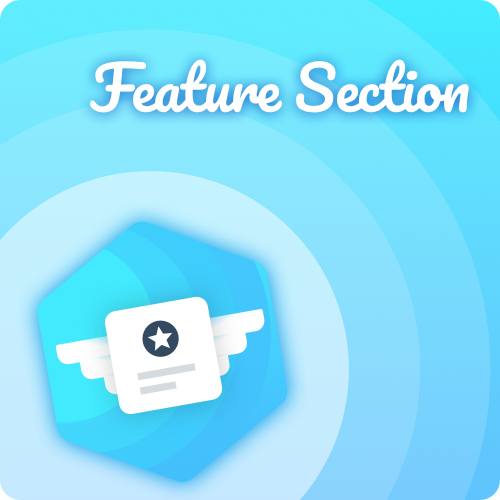 feature section new stack