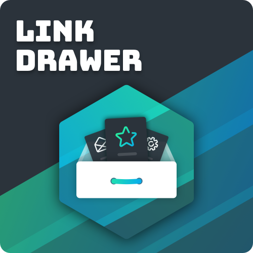 Link drawer stack promotion image