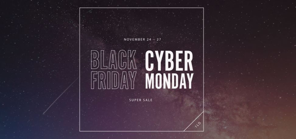 Black Friday - Cyber Monday Sale